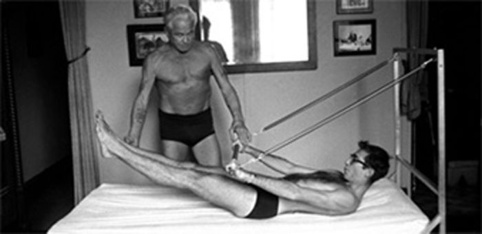 J.pilates Teaching With Spring