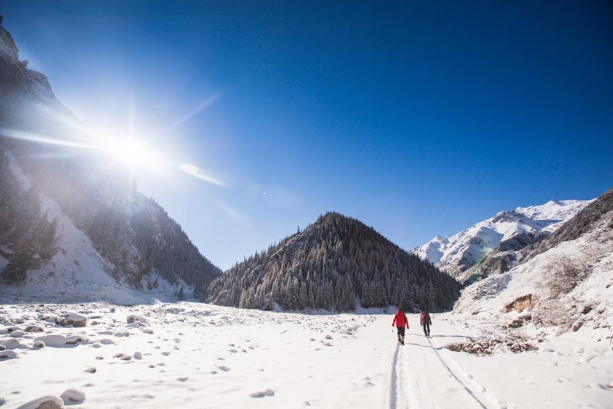 Winter Wonderland In Kyrgyzstan - Kegeti Gorge