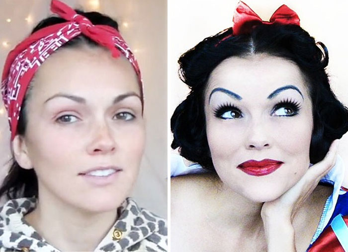 Makeup Artist Transforms Herself Into Iconic Characters