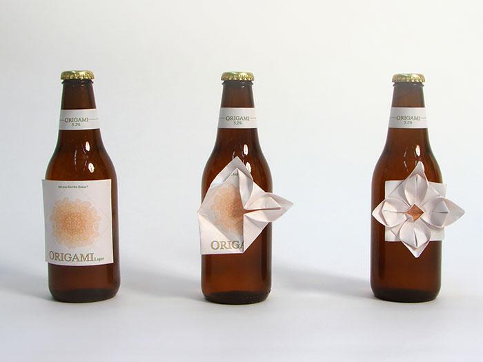 Origami Beer