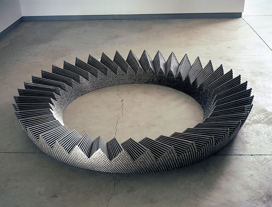 12-Inch Nails Turned Into Stunning Sculptures | Bored Panda