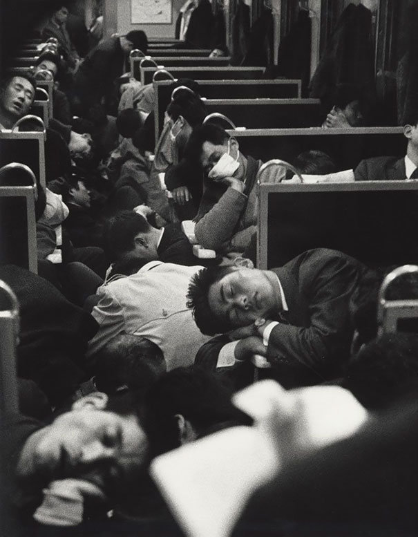 Early Morning Train, Japan, 1964