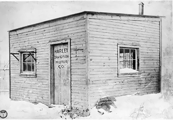 Harley Davidson's First Factory, 1903
