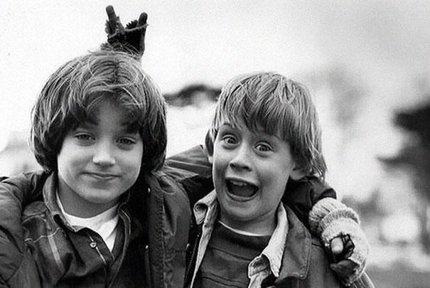 Elijah Wood & Macaulay Culkin, 1993