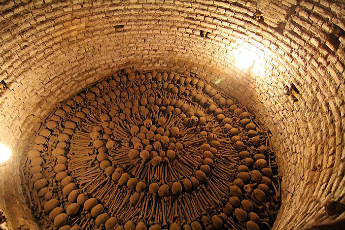 15+ Ossuaries: Bizarre Catacombs With Bone-Filled Interiors