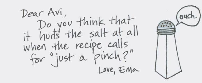 Love Is Salty?