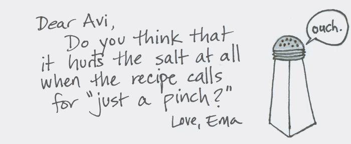 Love Is Salty?
