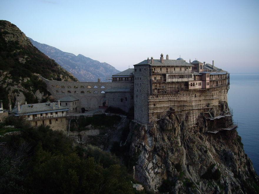 Monastery Of Simonopetra, Mt. Athos, Greece