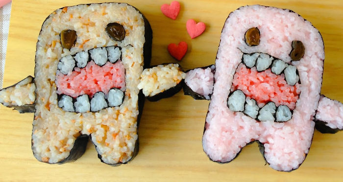 Monster Domo Love Sushi