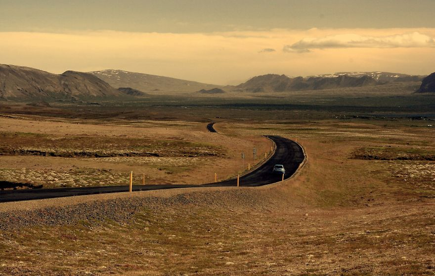 Road To Interior Iceland