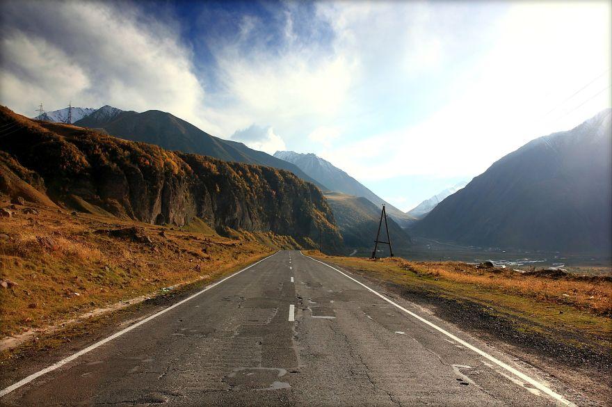 Military Road Georgia