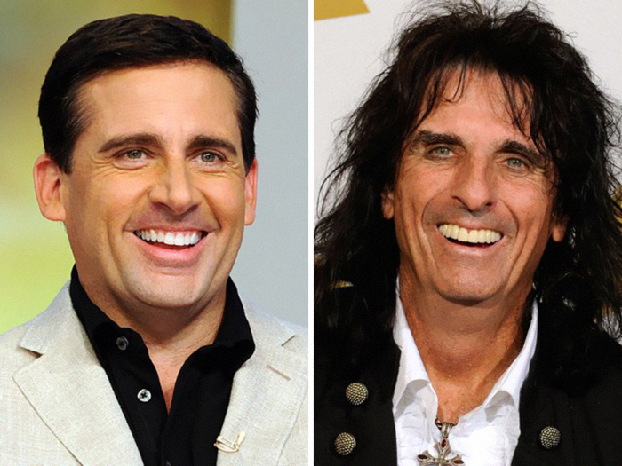 Steve Carell Looks Like Alice Cooper