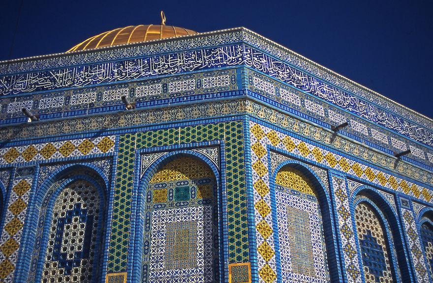 Dom Of The Rock Mosque, Jerusalem, Palestine