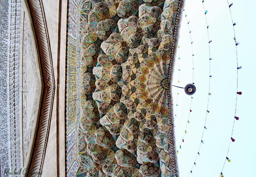 Vakil Mosque Entrance, Shiraz, Iran.