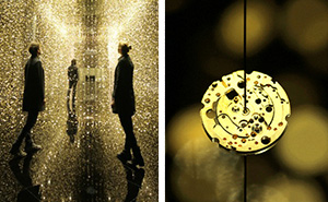 65,000 Watch Base-Plates Create A Magical Rain Installation In Tokyo