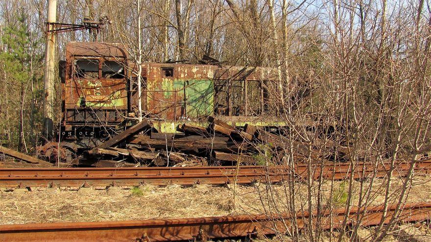 Rusting Iron Of Chernobyl