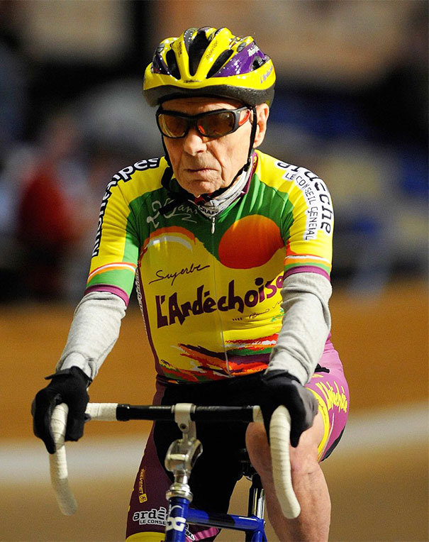 102-Year-Old Cyclist Robert Marchand