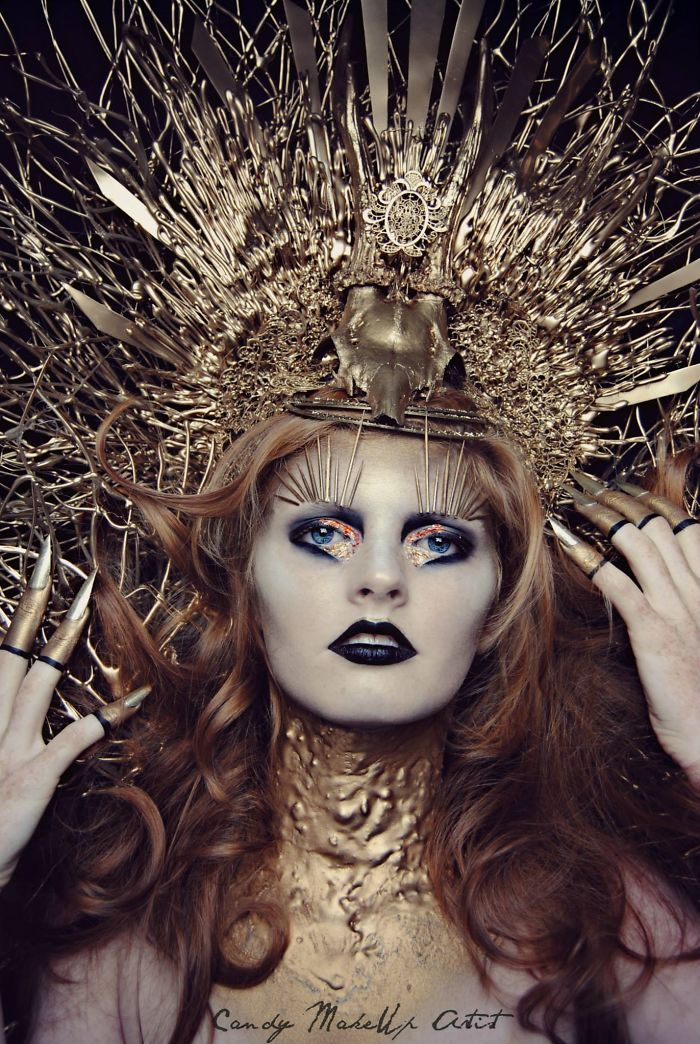 Extreme Make Up Art Inspired By Dark Fantasy World Bored