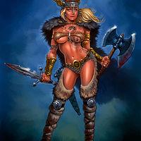 Sarah the Viking Terror