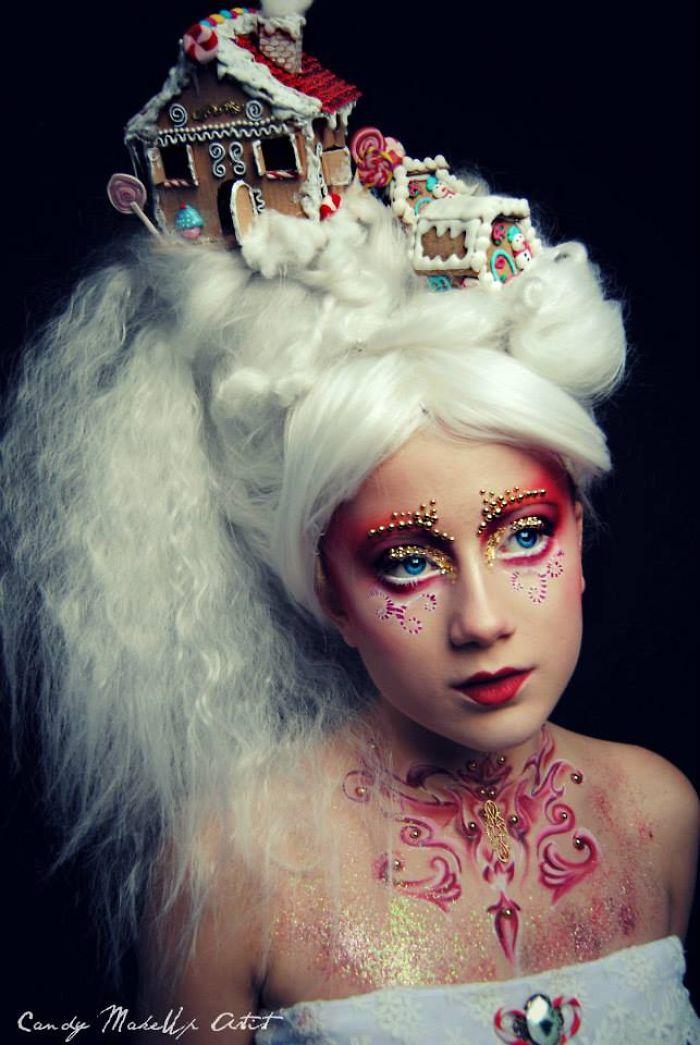 Extreme Make-Up Art Inspired By Dark Fantasy World