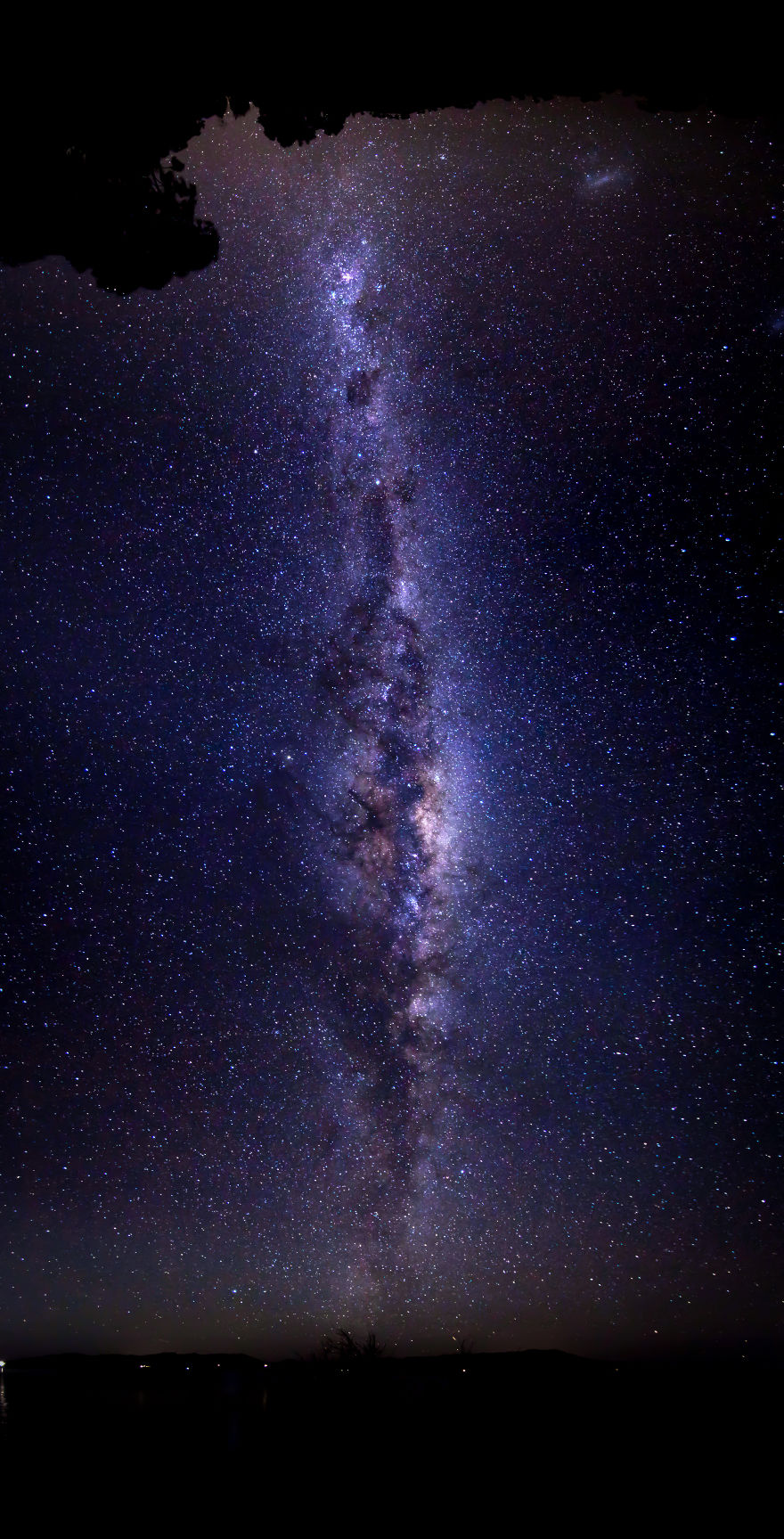 The Eye Of The Universe (180 grados panorama sobre Australia)