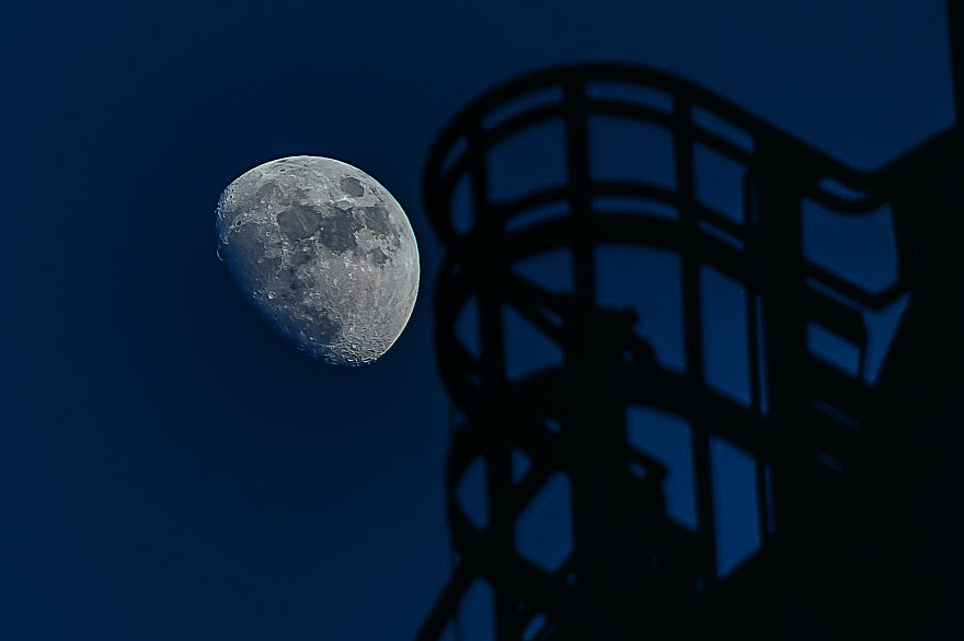 Techno Moon, Landschaftspark Duisburg, Germany