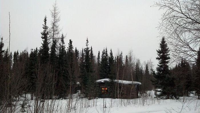 Christmas Finds An Abandoned Cabin In Nikolai, Alaska.