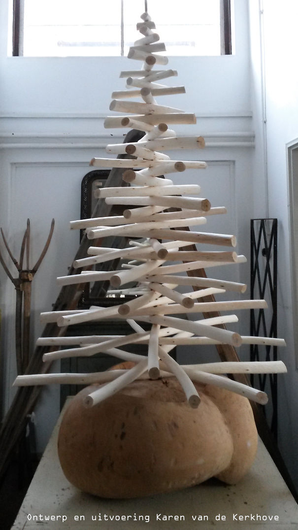 Architecnature Design Christmas Tree By Karen Van De Kerkhove