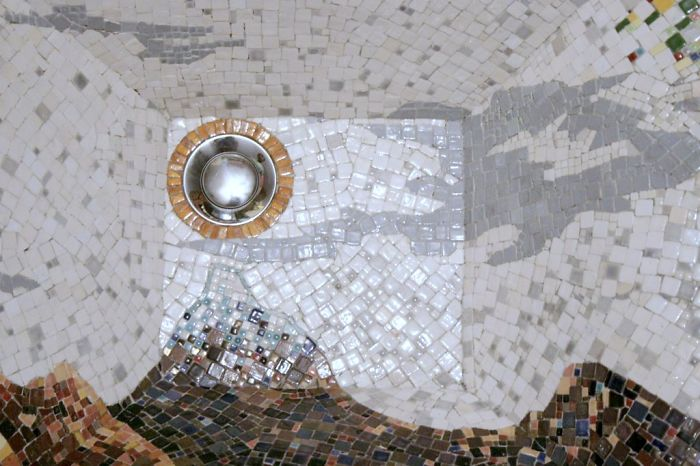 Unique Mosaic Sink I Designed And Made By Myself