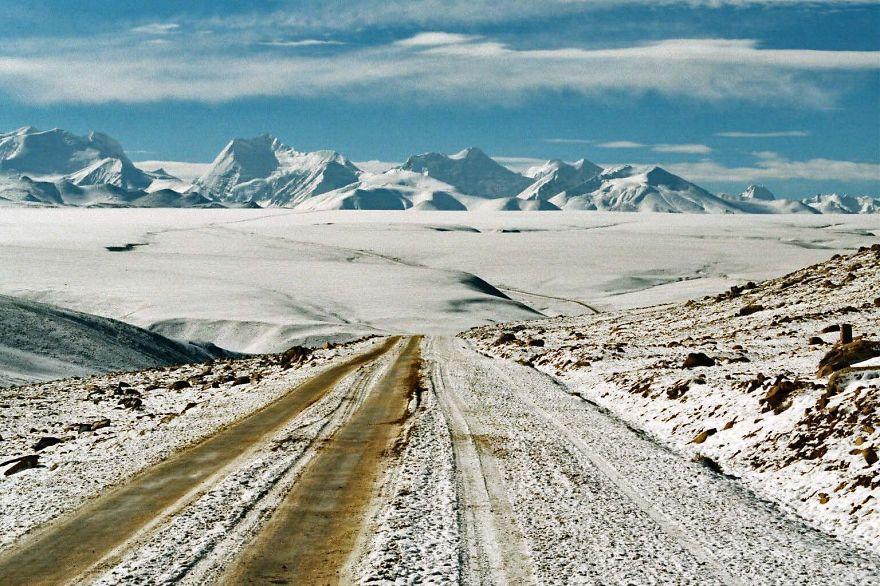 Lalung La, Tibet