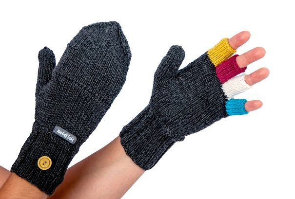 Colorful Gloves With Cap