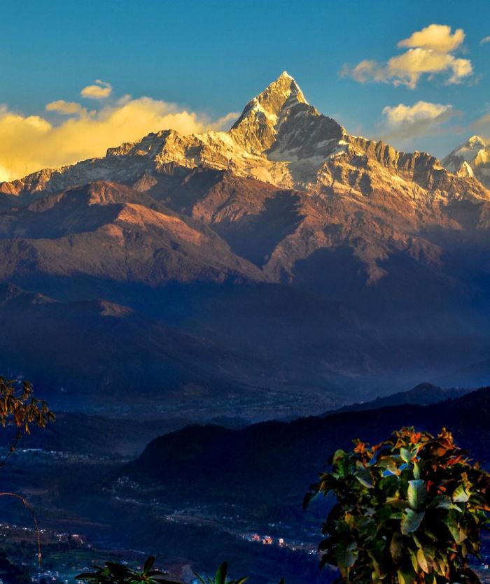 Mt. Machapuchre, Nepal (6993m)