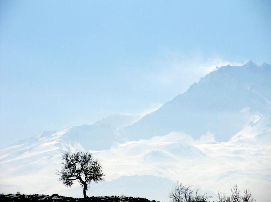 Erciyes Mountain, Middle Anatolia, Turkiye