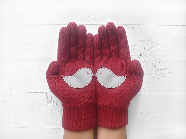 Love Birds Gloves