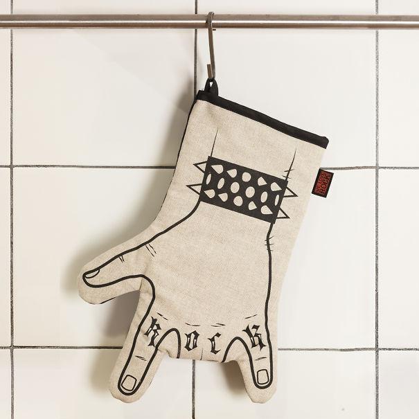 Rock'n'roll Kitchen Glove