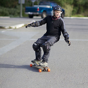 78-Year-Old Skateboarder Lloyd Kahn Decided That The Time Had Come For Him To Try Skateboarding At 65