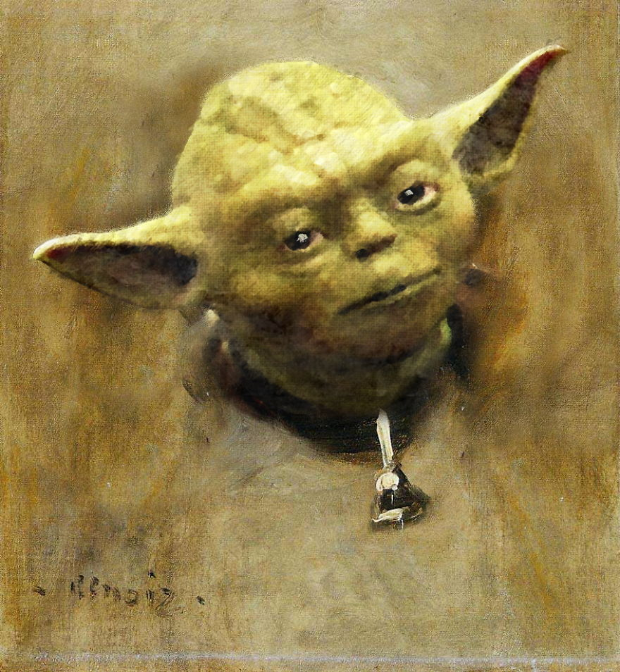 20 Famous Paintings Reimagined With Star Wars Elements