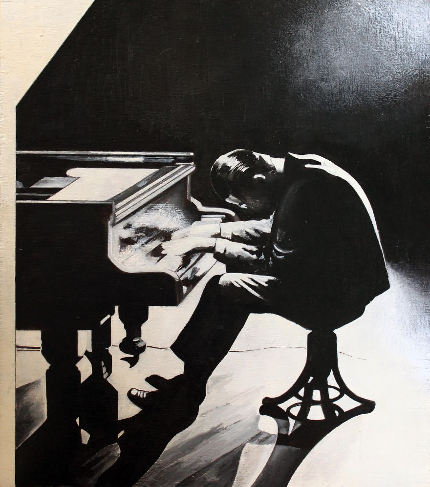 All That Jazz: My Paintings Of Jazz Musicians