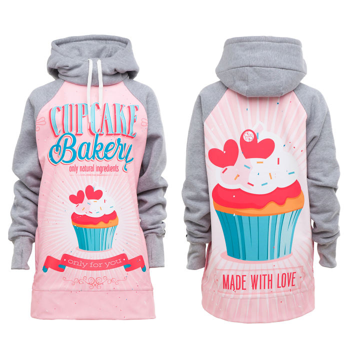 Cupcake Bakery Hoodies