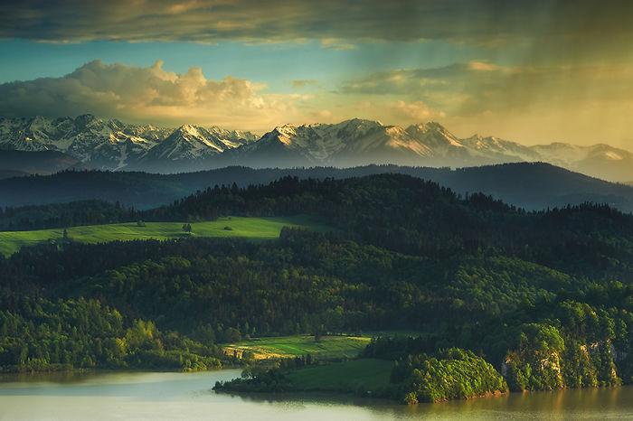 Tatras And Czorsztyn Lake, Poland