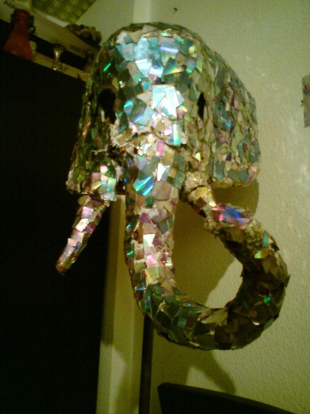 Elephant Mask From Beatelephant