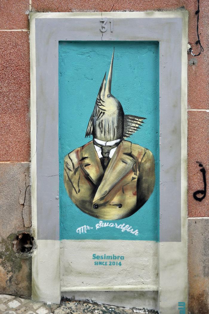 Mr. Swordfish. Sesimbra, Portugal