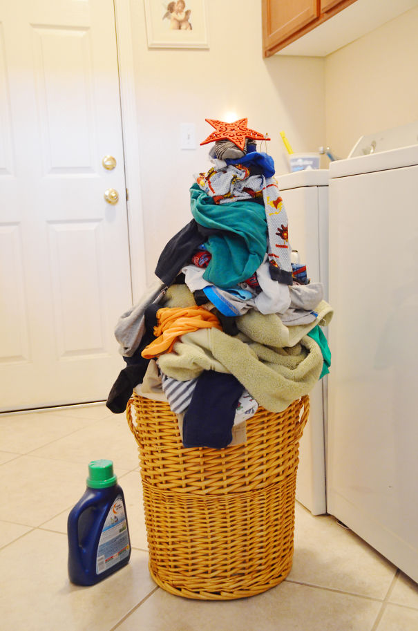 Queenie's Laundry Christmas Tree