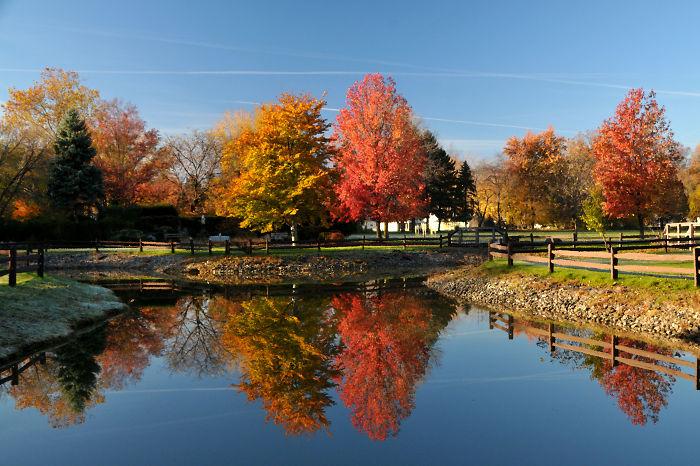 St. Bernadette Church Pond