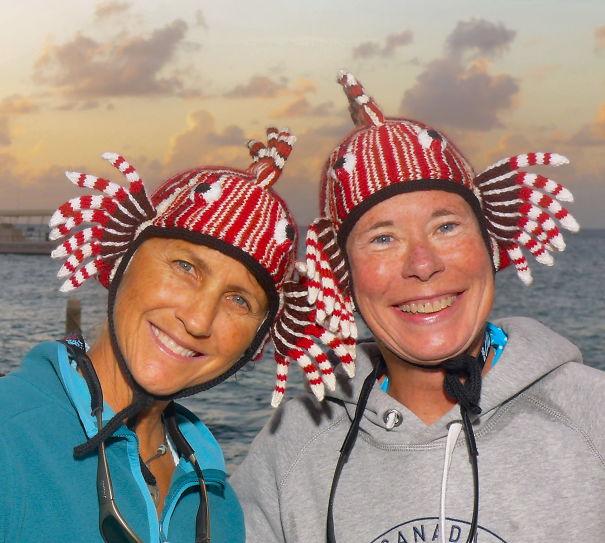 Lionfish Hats