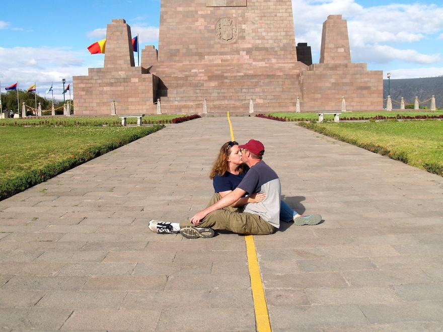 Kissing On The Equator