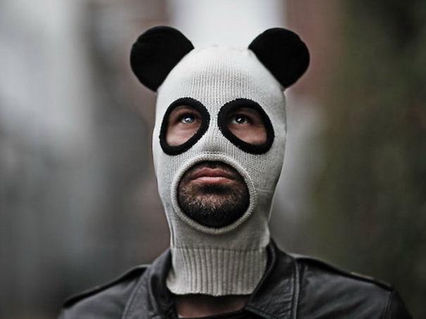 Panda Face Beanies