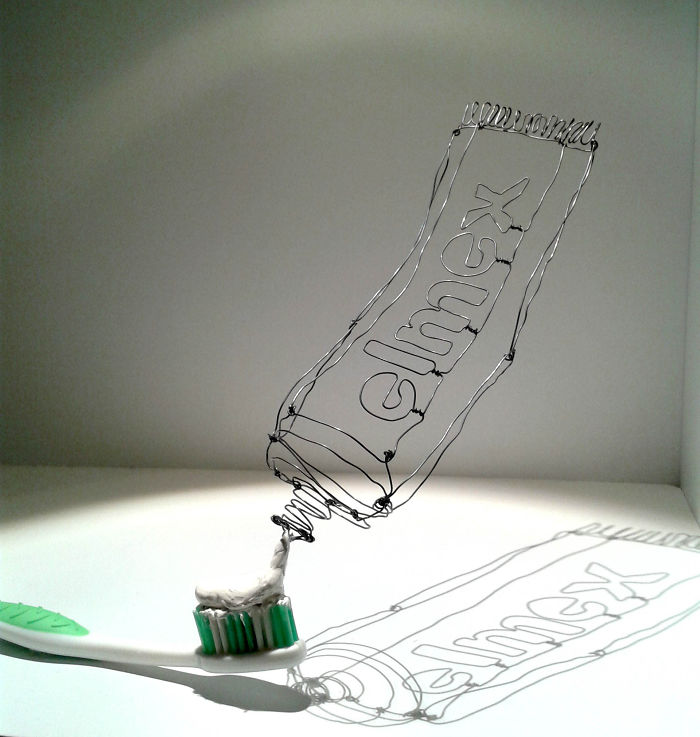 I Make 3d Wire Sculpture
