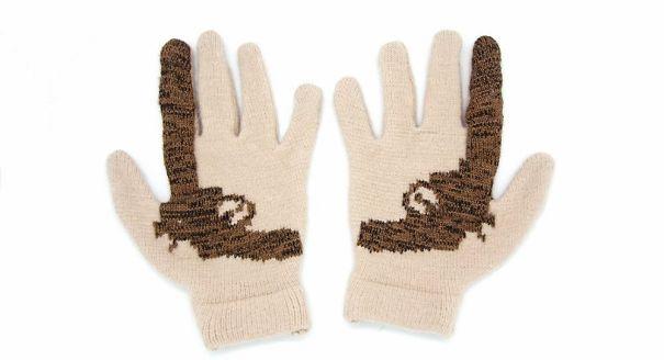 Cashmere Gun Gloves
