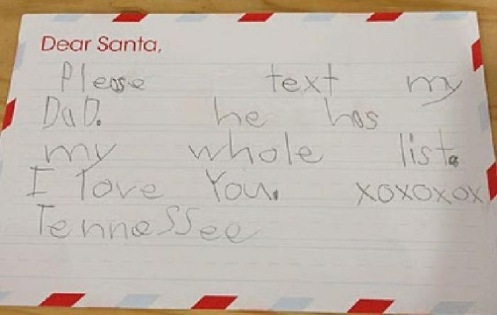 10+ Funny Letters To Santa
